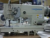 Двухигольная прямострочная швейная машина с двойным продвижением материала TYPE SPECIAL S-F02/875 /6240B
