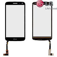 Touchscreen (сенсорный экран) для LG K5 X220 Dual Sim, черный, оригинал