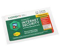 Антивирусная программа Kaspersky Internet Security 2016 1+1 ПК, продление на 1 год