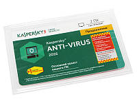 Антивирусная программа Kaspersky Anti-Virus 2016, 2+1 ПК, продление на 1 год
