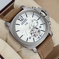Механические часы с автоподзаводом Panerai Luminor Marina PL - 0006 Silver\White\Black