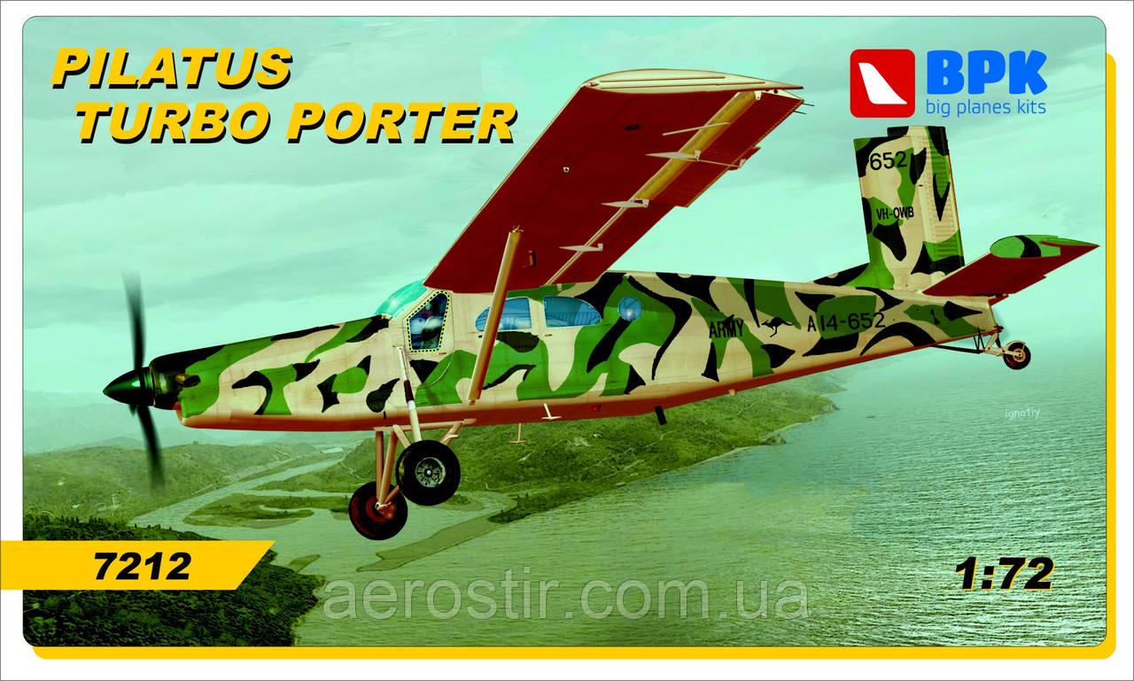 Pilatus Turbo Porter 1/72 BPK 7212