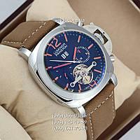 Механические часы с автоподзаводом Panerai Luminor Marina PL - 0006 Silver\Black\Orange