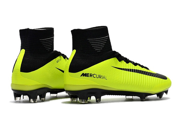 Футбольные бутсы Nike Mercurial Superfly V FG Electric Green/Black/Falsh Lime