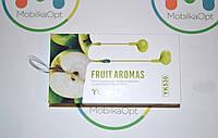 "Наушник с гарнитурой ""Yookie"" fruit aromas YK 530 ( green)"