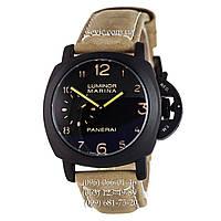Механические часы с автоподзаводом Panerai Officine Digits Black\Black-yelloy