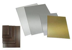 Металлические пластины и подложки