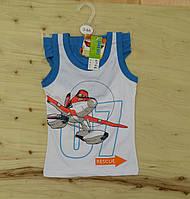 Компект белья трусики+майка Disney Planes для мальчика. Размеры: 2-3,3-4,5-6,7-8 лет