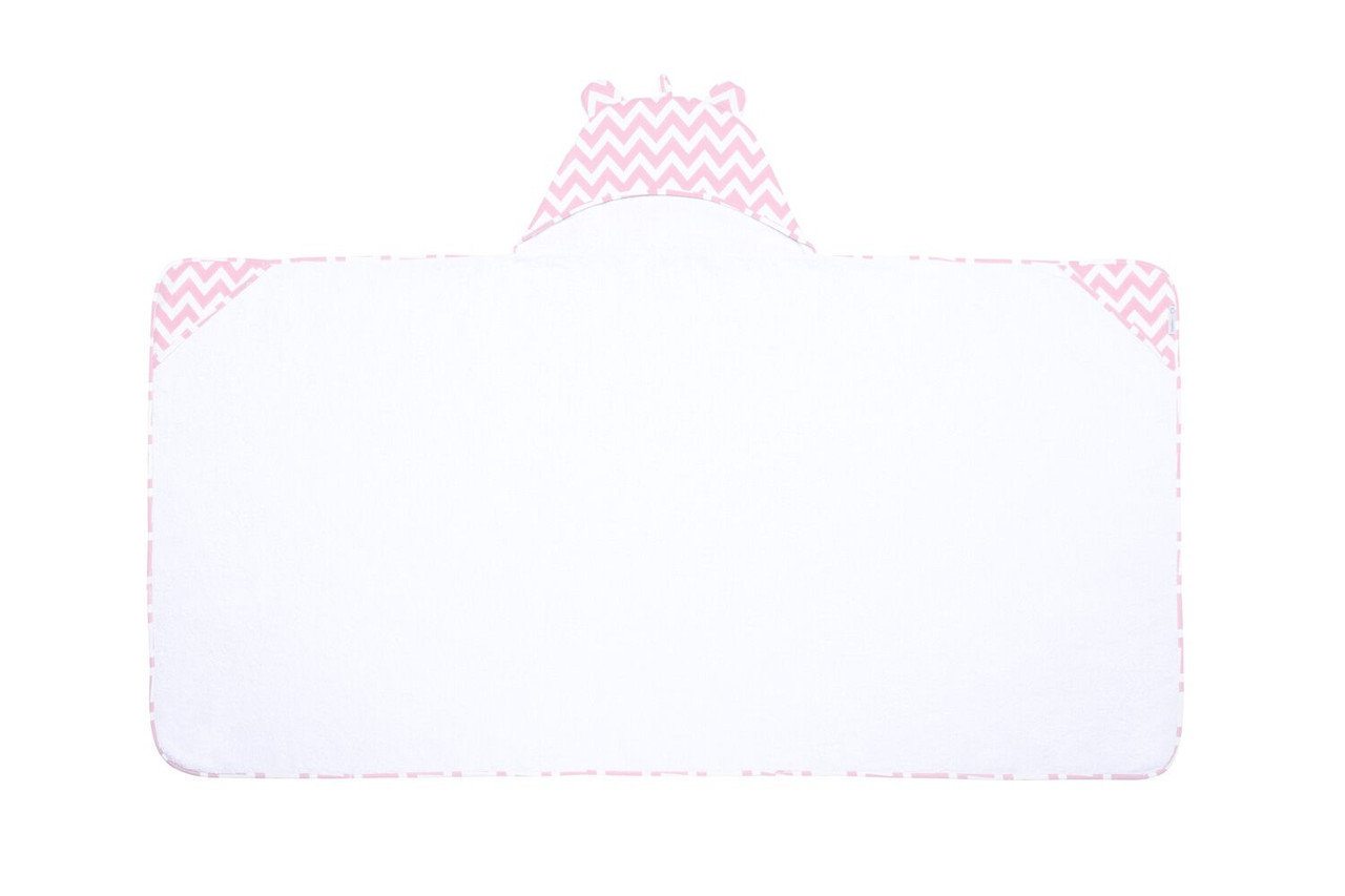 Полотенце с уголком «Розовый мишка», GoforKid