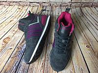 Кроссовки женские Adidas 10XT WTR MID Grey Purple. Адидас, интернет магазин
