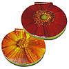 Cтикеры с клейкой полосой типа Post-it размером 62х62 мм, 50 листов «Цветы»