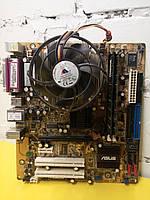 Материнская плата ASUS P5RD1-VM +процессор Pentium 4 CPU 3.00 GHz +память
