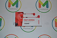 "Наушник с гарнитурой ""Yookie"" fruit aromas YK 530 (pink)"