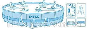 Каркасный Бассейн Intex 28736 (457х122) , фото 2