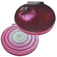 Стікери з клейкою смужкою типу Post-it розміром 62х62 мм, 50 аркушів «Червоний лук», фото 1