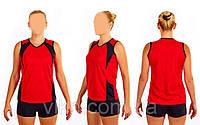 Форма волейбольная женская UR RG-4269-R(44) (нейлон, эластан, красная)