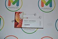 "Наушник с гарнитурой ""Yookie"" fruit aromas YK 530 (white)"