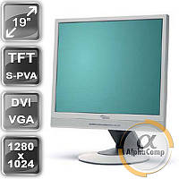 """Монитор 19"""" Fujitsu P19-2 (PVA/5:4/DVI/VGA/колонки) class A БУ"""