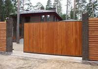 Відкатні (зсувні) ворота