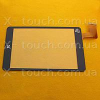 Тачскрин, сенсор C196131F1-FPC8080R для планшета, черный