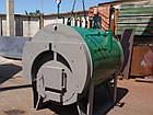 Парогенератор твердотоп.горизонт.ж/труб. 300Е, 12 бар (уголь,дрова),автоматика, дымосос и комплект, фото 7