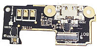 Шлейф Asus ZenFone 5 Lite (A502CG) нижняя плата c разъемом зарядки и микрофоном