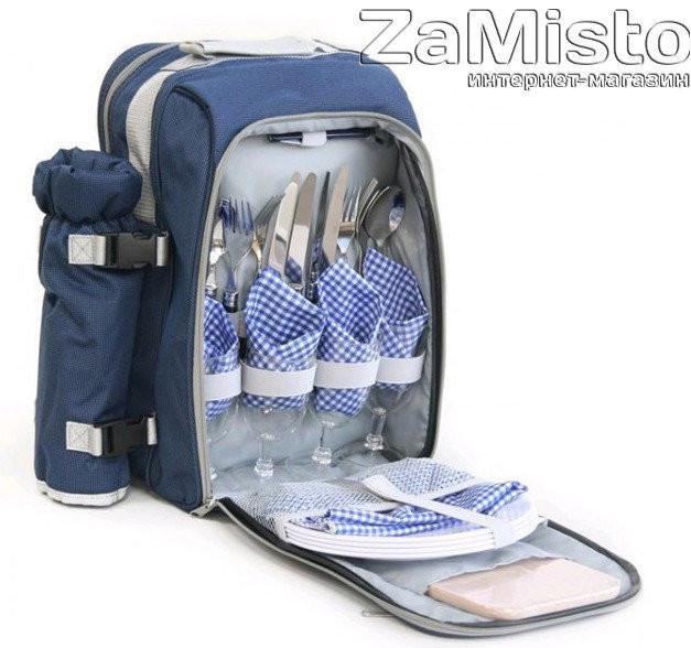 Набор для пикника KingCamp PICNIC BAG-4 KG3711 (Blue)