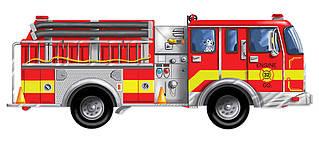 Підлоговий пазл Велика пожежна машина