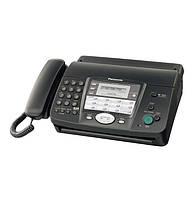 Б/У Факсимильный аппарат Panasonic KX-FT908, Black, авторезак, цифровой дуплексный спикерфон, цифровой автоответчик, 40.5 x 35 x 24 см, 3.95 кг