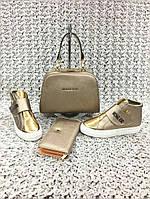 Обувь от MK золото, фото 1