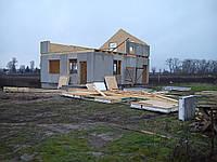 Строительство домов, коттеджей из оштукатуренных СИП-панелей