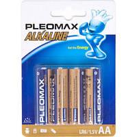 4х Батарейка AA LR6 Pleomax Alkaline