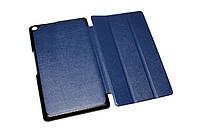 Чехол-подставка для планшетного ПК Asus ZenPad 8.0 (Z380), Dark Blue, искусственная кожа