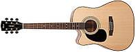 Электроакустическая гитара CORT AD880CE LH (NAT)