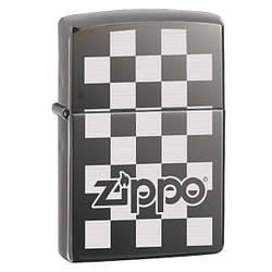 Запальничка Zippo CHECKERBOARD BLACK ICE