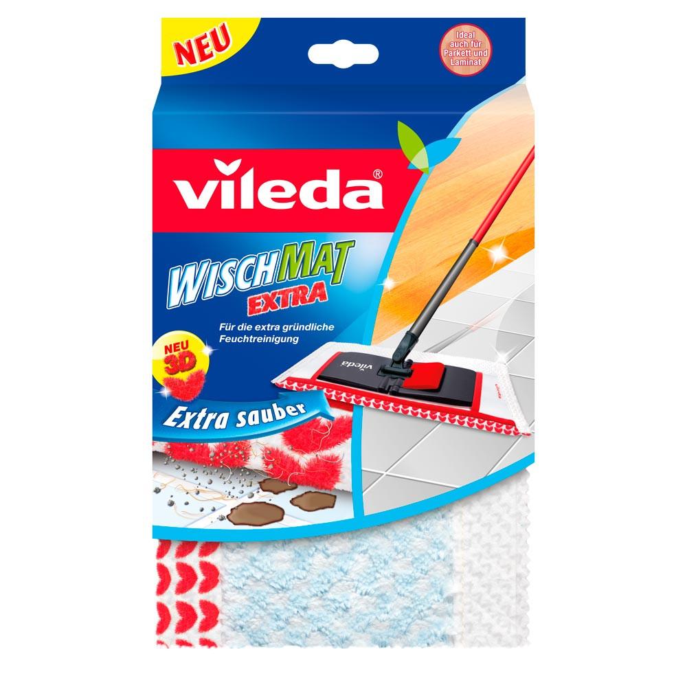 Сменный моп для швабры WischMat Extra, Vileda, 1 шт.