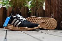 Кроссовки мужские Adidas NMD Runner Suede Black. адидас ранер, обувь адидас интернет
