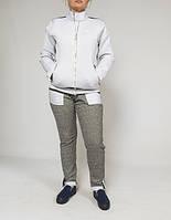 15320 Спортивный костюм серый 42