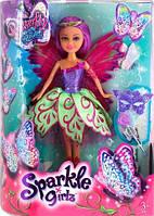Волшебная фея-бабочка Джессика Funville Sparkle girlz в фиолетово-зеленом платье (FV24389-1)