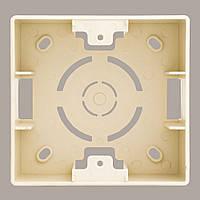 Коробка для наружного монтажа OSCAR Крем (10шт)