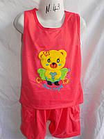 Детский спортивный костюм лето на девочку