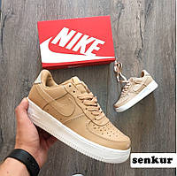 Кроссовки Nikelab Air Force 1 Low Vachetta Tan