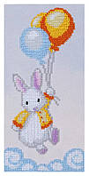 """Набор для вышивания бисером """"Кролик беленький"""""""