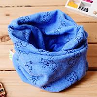 Хомут шарф трикотажный для детей