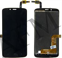 Дисплей (LCD) Huawei Honor 3C Lite (Holly- U19) с сенсором черный