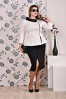Женский костюм 770177,  размеры 62, 64, 66.