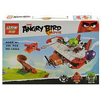 """Конструктор Lepin Angry Birds 19002 """"Самолетная атака свинок"""" 185 деталей"""
