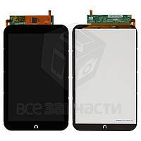 Дисплей для планшета Nook HD 7, черный, с сенсорным экраном