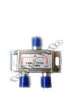 Сплит. 2 WAY 5-2400 MHz с п/п(син колп)