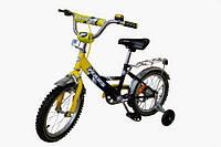 """Детский велосипед Марс 20 """"ручной тормоз + эксцентрик (зеленый / черный)"""